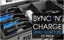 15 Sync 'N' Charge iPad Charging Station