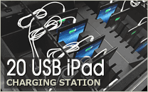20 USB iPad Charging Station