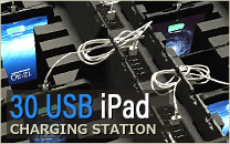 30 USB iPad Charging Station
