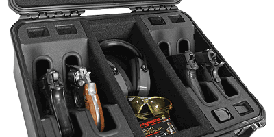 4 Shooting Range Handgun Case