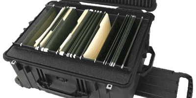Mobile File Cabinet Case