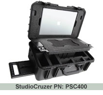 Photo StudioCruzer PSC400 - Carry-on Canon / Nikon SLR Camera & Apple Laptop Case