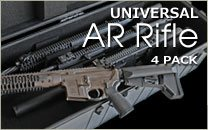 Universal AR Rifle Case 4 Pack