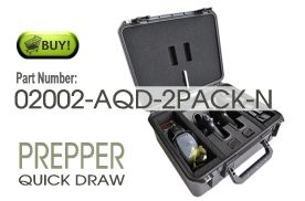 Buy 2 Pack Prepper Handgun Case