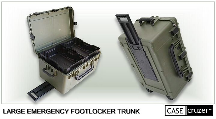 Large Emergency Footlocker Case
