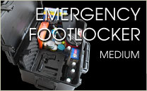 Medium Emergency Footlocker Case