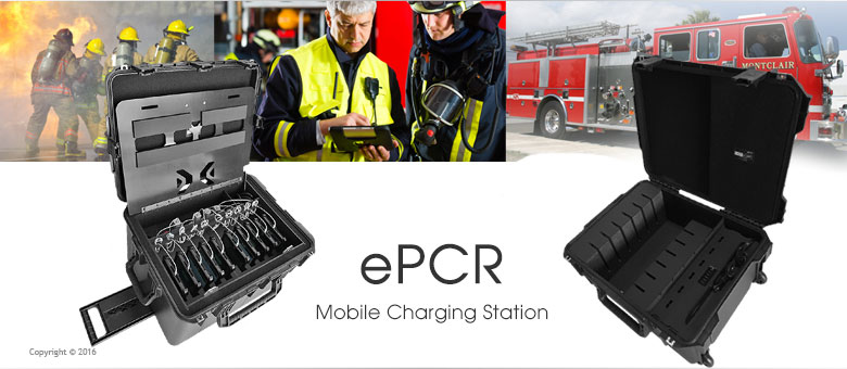 EMS ePCR Charging Station for Emergency Response
