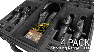Handgun Case 4 Pack
