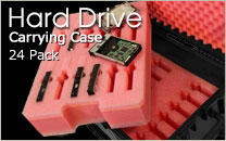 Hard Drive Case 24 Pack