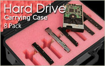 Hard Drive Case 8 Pack