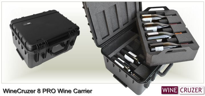 Holiday Gift Wine Carrier from WineCruzer - 8 PRO