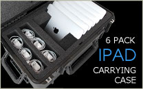 iPad Carrying Case 6 Pack
