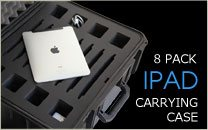 iPad 8 Pack Carrying Case