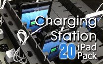 Multiple iPad Charging Station 20 Pack