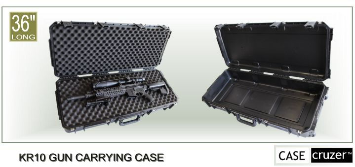 CaseCruzer KR10 Gun Carrying Case Press Release 06-27-2011