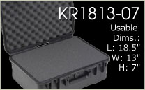 KR1813-07 Carrying Case