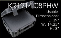 KR1914-08PHW Carrying Case