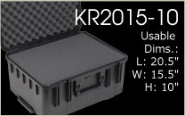 KR2015-10 Carrying Case