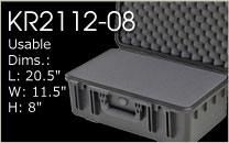 KR2112-08 Carrying Case