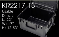 KR2217-13 Shipping Case