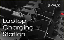 Laptop Charging Station 8 Pack