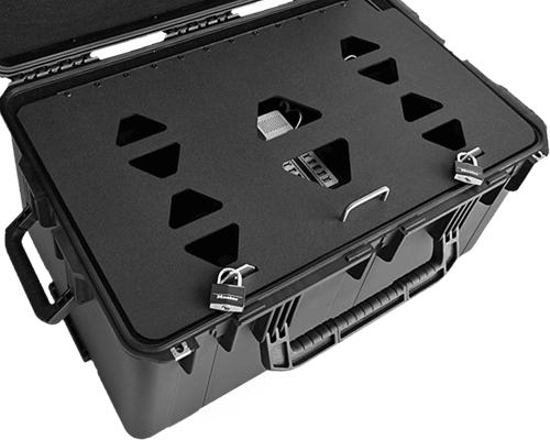 Lockable EFB Secure Sync Charge Station