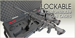 Lockable Custom Gun Case