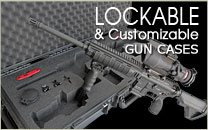 Lockable Gun Case Custom