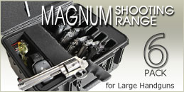 Magnum Shooting Range 6 Pack Handgun Case