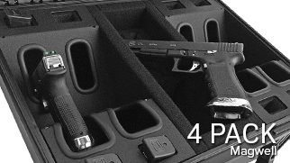 Magwell Handgun Case 4 Pack
