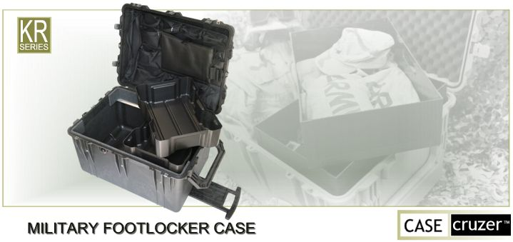 Military Footlocker Case