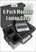 6 Pack Modular Laptop Case