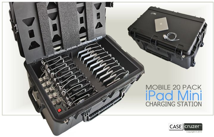 Mobile iPad Mini Charging Station Press Release