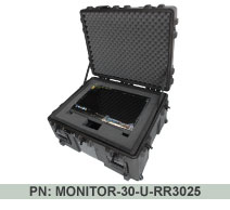 "Universal LCD Monitor Shipping & Carrying Case - For Up To 30"" LCD Monitors"