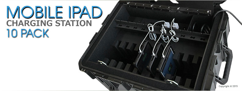 Multiple iPad Charging Station 10 Pack Press Release