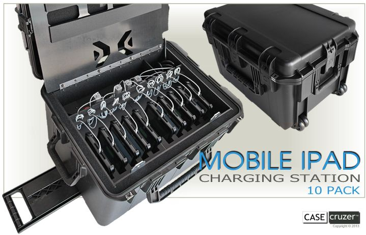 Multiple iPad & Mini Charging Station 10 Pack