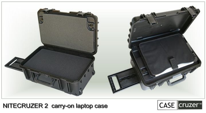 NiteCruzer 2 carry-on laptop case