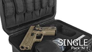 Pack N 1 Handgun Case Single