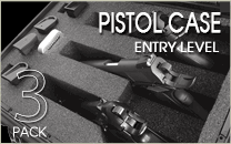 Pistol Case 3 Entry Level