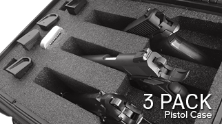 Pistol Case 3 Pack