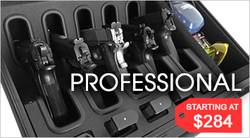 Professional Handgun Cases