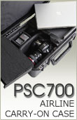 PSC700 Airline Carry On Case for Camera and Laptop