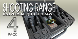 Zombie Shooting Range 4 Pack Handgun Case