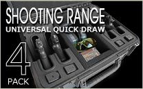 Shooting Range Case 4 Pack