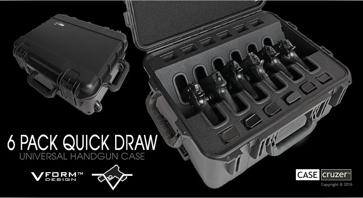 quick draw universal handgun 6 pack