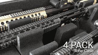 AR Rifle Cases 4 Pack
