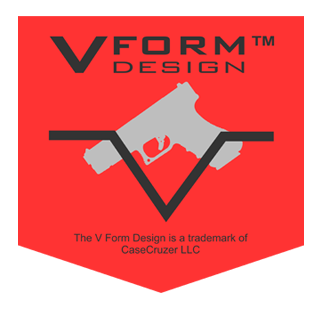 V Form Design Handgun Case