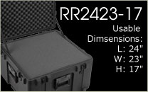 RR2423-17 Shipping Case