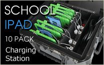 School iPad Charging Station