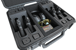 Shooting Range Handgun Case 4 Pack with Room for Accessories